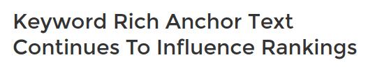 vpliv anchor texta