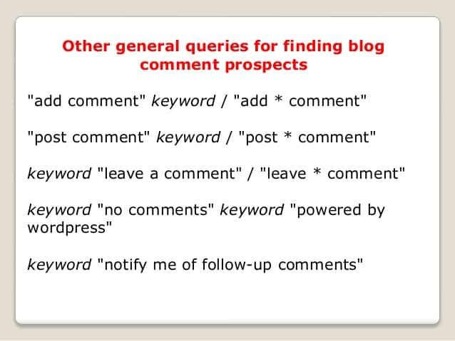 blog komentiranje