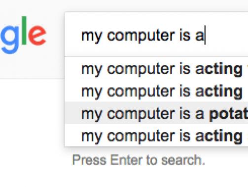 google suggestions