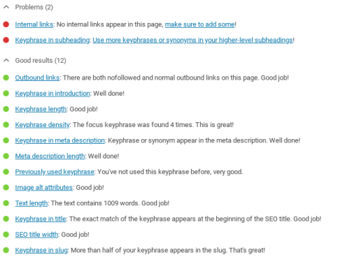 seo optimizacija wordpress yoast