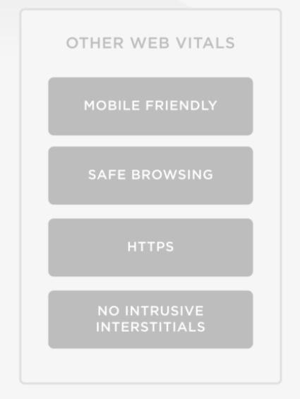 other web vitals